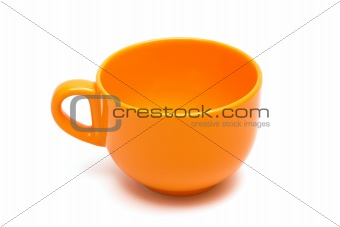 Beautiful orange cup
