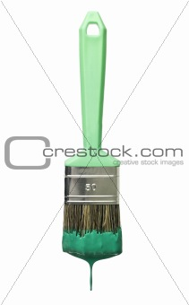 Green Paintbrush