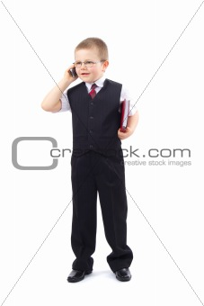 Small Boy - Businessman