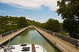 Pleasure boating along the canals