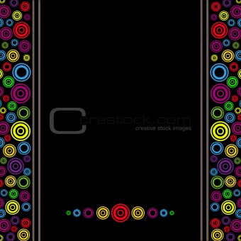 Abstract Circles Colours Background