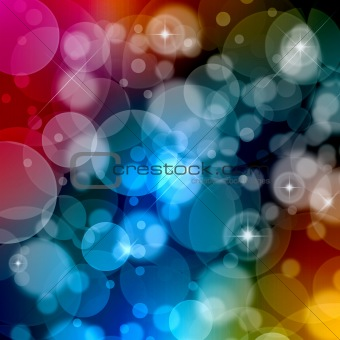 Beautiful abstract background of colors holiday lights