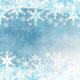 Abstract winter background with snowflakes (1 of set)