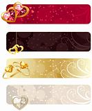 For horizontal  banners with jewels