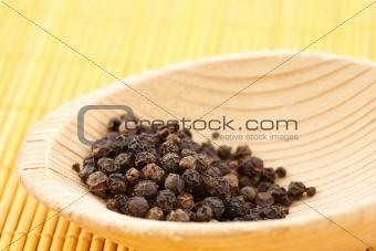 black pepper peas