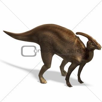 Dinosaur Parasaurolophus