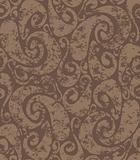 Seamless rusty swirls pattern