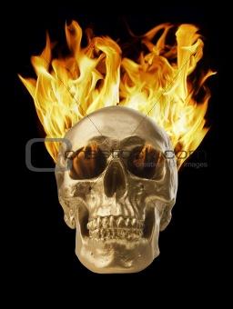 Blazing Skull