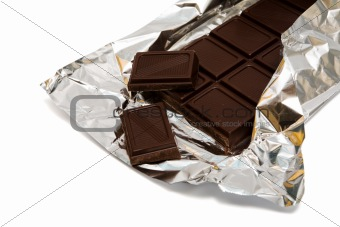 chocolate in a foil