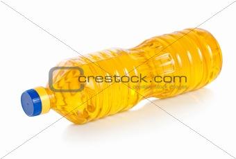 Oil in plastic bottle