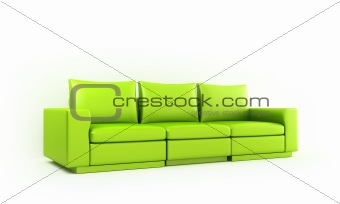 Green moder style sofa