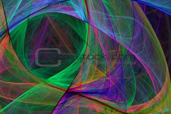 Abstract High Tech Glowing Background