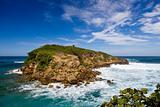 Rocky island off Puerto Rico