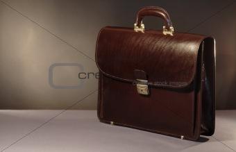 Briefcase On Dark