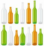 Big Glass bottle set