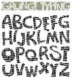 Grunge typing