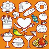 set of food icons. part 2