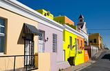 bo-kaap street in cape town
