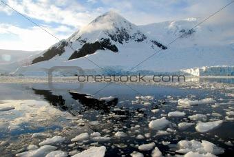 antarctica over the water