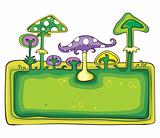 Mushrooms banner.