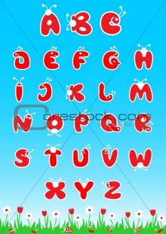 ABC Latin Alphabet