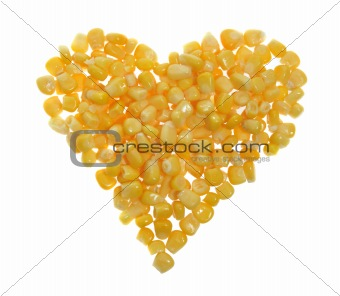 heart of canned corn