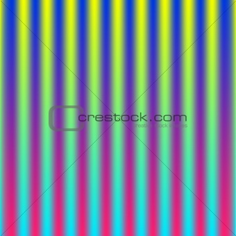 abstract vector illustration polar lights