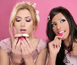 fashion gluttony barbie doll style girls sweets greed