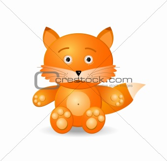 fox toy icon