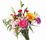 Spring bouquet of mixed flowers