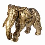 clay statuette of an elephant