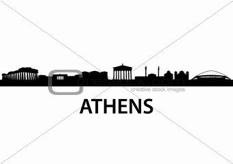 Skyline Athens