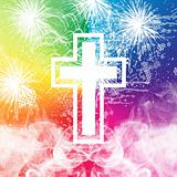 Fireworks Cross