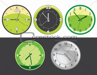 Clock set