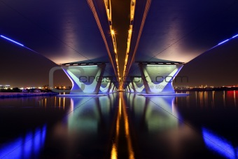 Al Garhoud Bridge in Dubai