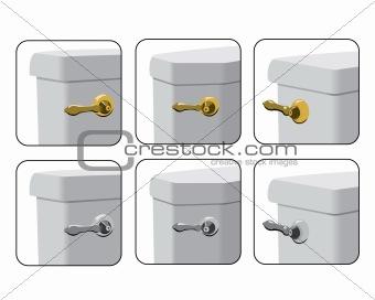 Toilet Tank Levers