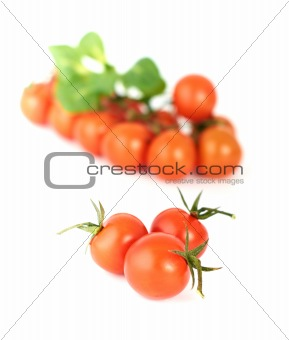 Three tomatoes-cherry
