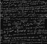 Blackboard With A Math Calculation.