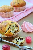 Pink cupcake birthday surprise