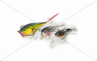 Spoon-Bait With Two Hook