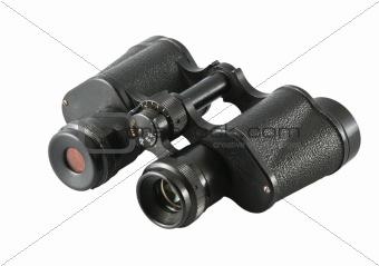 old commander's binoculars