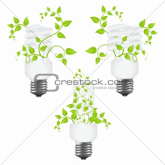 Set power saving lamps