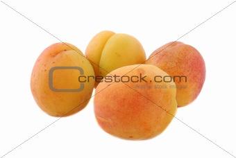 Apricot fruits