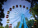 ferris wheel rotation