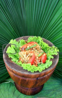 green papaya salad,Thai cuisine