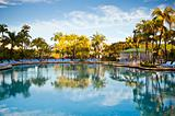 Caribbean Paradise Pool Luxury Resort Tropical Vacation