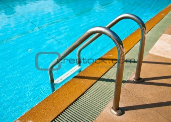 old stair Swimming pool
