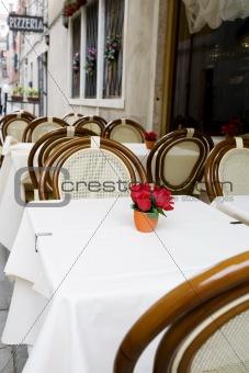 Small restaurant in Venice