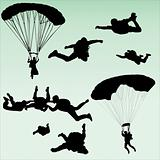 parachutists