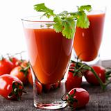 Fresh Tomato juice or Bloody Mary